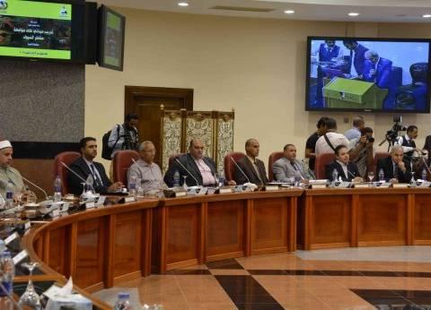 إدارة الأزمات تستعرض خطة المنيا لمواجهة الكوارث الطبيعية