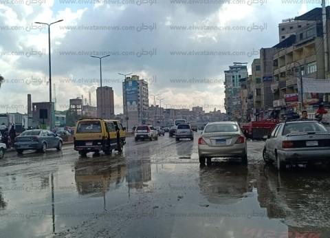 بالصور| الأمطار تضرب الغربية.. والأهالي: البرك تحاصرنا