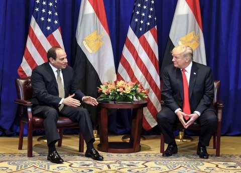 توابع زيارة «السيسى» إلى واشنطن: «ترامب» يدشن معركة ضد «الإخوان» لتصنيفها كجماعة إرهابية