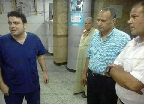بالصور| رئيس مدينة دسوق يتفقد المستشفى العام ويوجه بتوفير الأدوية