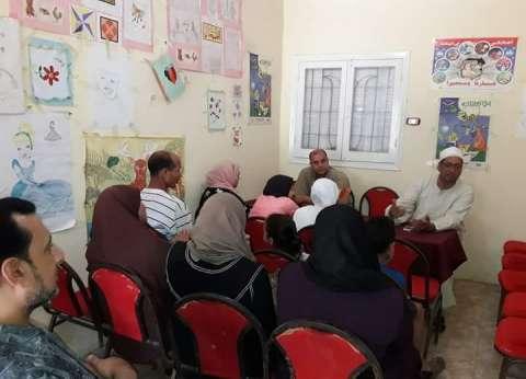 """""""ثورة 30 يونيو وإنقاذ البلاد"""".. محاضرة بمكتبة تمى الأمديد في الدقهلية"""