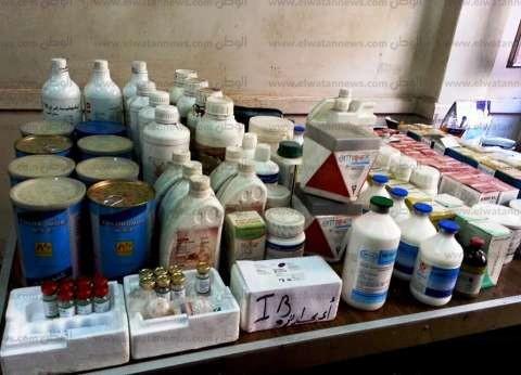 بالصور  ضبط أدوية بيطرية منتهية الصلاحية في الشرقية