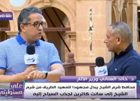 """وزير الآثار لـ""""الخيالة"""" بالأهرامات: """"مش هنسيب المنطقة بالشكل ده"""""""