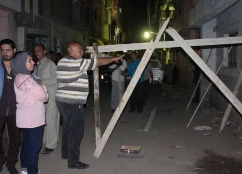 إصابة شخص في انهيار سقف عقار بالمنصورة