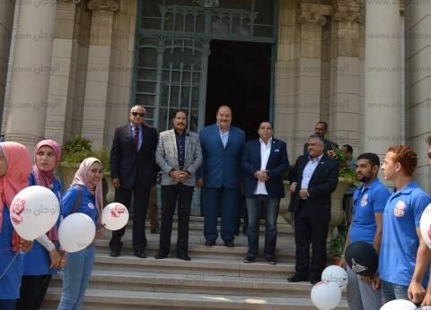 """استمرار فعاليات مهرجان استقبال الطلاب الجدد بـ""""عين شمس"""""""