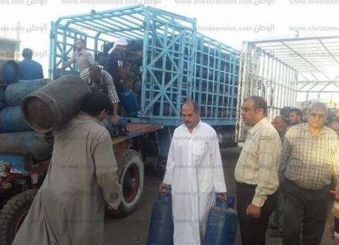 حي وسط القاهرة يشرف على بيع أسطوانات الغاز للمواطنين