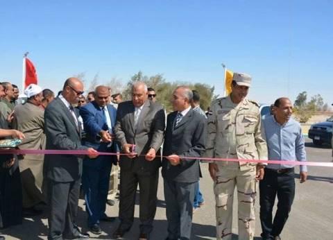 """محافظ الوادي الجديد يفتتح محطة وقود """"وطنية"""" بمركز الفرافرة"""