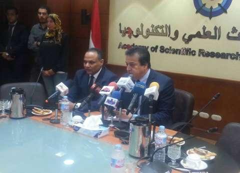 رئيس أكاديمية البحث العلمي: الإرهاب الخسيس لن ينال من وحدة المصريين