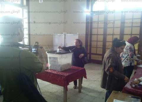 قاضي لجنة بقصر النيل: الإقبال جيد حتى الآن