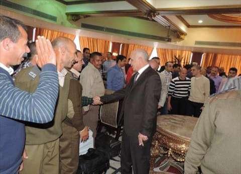 بالصور| مدير أمن دمياط يجتمع بقوات تأمين الانتخابات البرلمانية