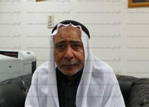 كبير مشايخ قبائل جنوب سيناء: حب وتأييد السيسي سيظهر بصندوق الانتخابات