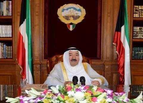 """أمير الكويت يعزي السيسي في شهداء """"اشتباكات الواحات"""""""