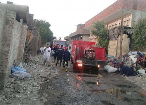"""""""الحماية المدنية"""" بالجيزة تخمد حريقا نشب في شقة ببولاق الدكرور"""