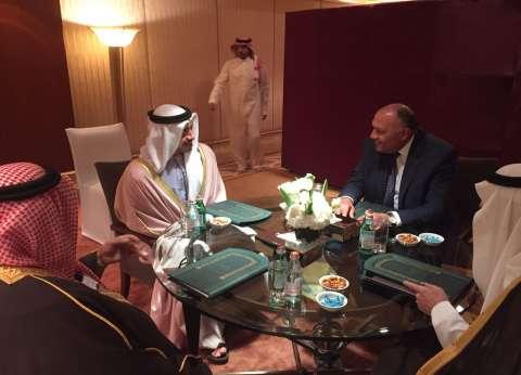 وزراء خارجية دول الرباعي العربي يعقدون اجتماعا تشاوريا في الرياض