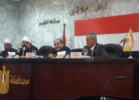 وزير الأوقاف من سوهاج:  مصر البلد الوحيد المهتم بعمارة المساجد.. ولامكان للمتشددين