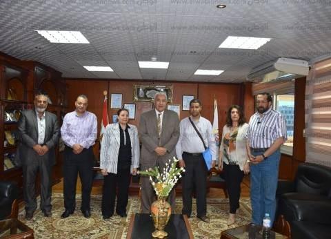 """بروتوكول تعاون بين جامعتي مدينة السادات و""""زيان عاشور"""" الجزائرية"""