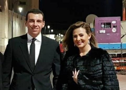 """دنيا سمير غانم تحضر حفل """"القاهرة السينمائي"""" برفقة زوجها"""