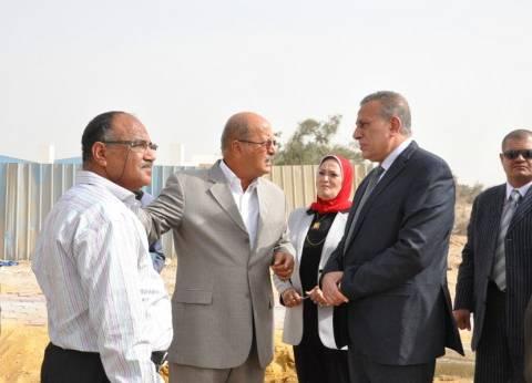 محافظ الجيزة يهنئ الرئيس وعمال مصر بعيد العمال