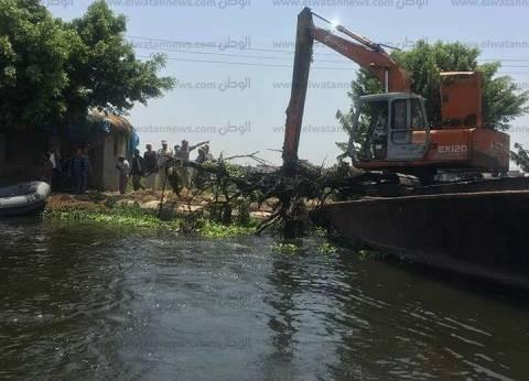 """لجنة تنمية البحيرات: المياه المالحة يمكنها مواجهة أزمة حشائش """"البرلس"""""""
