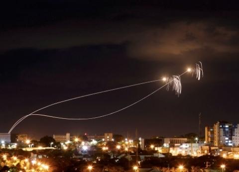 القبة الحديدية الإسرائيلية تفشل في صد بعض صواريخ غزة