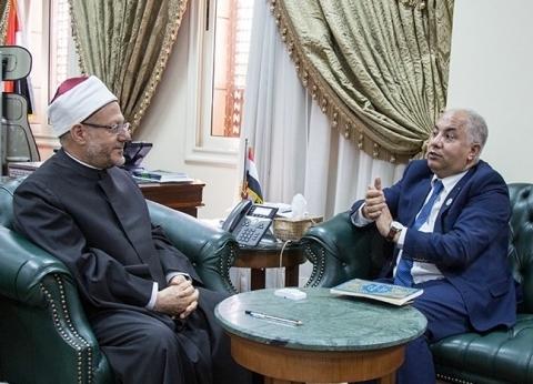 مفتي الجمهورية يستقبل الأمين العام للمجلس العالمي للمجتمعات المسلمة