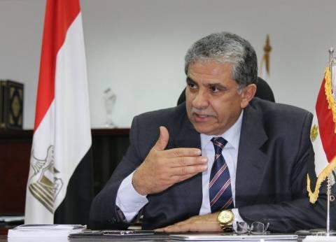 """""""فهمي"""" يلتقي محافظ جنوب سيناء لمناقشة خطط تطوير المحميات الطبيعية"""