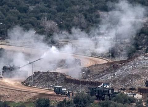 القوات الكردية تصد هجوما تركيا وتسقط طائرة في عفرين السورية