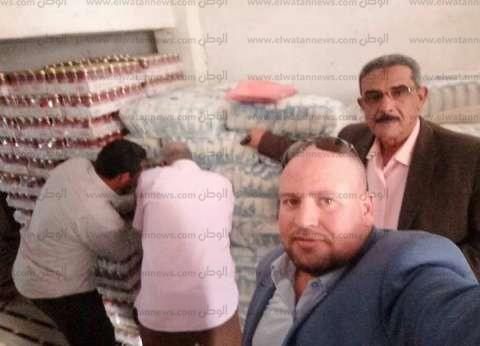 بالصور| ضبط 2.3 طن أرز به حشرات بفرع الشركة العامة للجملة في كفر الشيخ