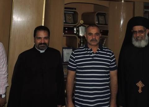 3 وفود من الأرثوذكس والكاثوليك لتهنئة مدير أمن المنيا الجديد