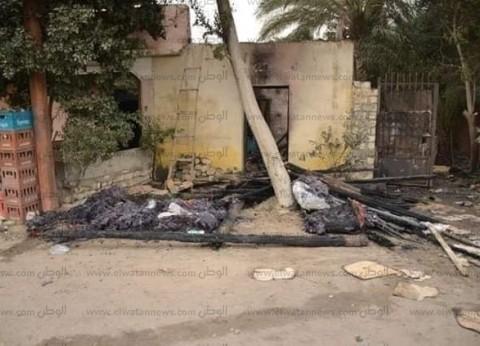 نشوب حريق في 5 منازل نتيجة ماس كهربائي بسبب سوء الطقس بالإسماعيلية
