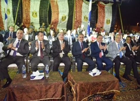 بالصور| محافظ أسيوط يشهد احتفالية ذكرى انتصارات أكتوبر
