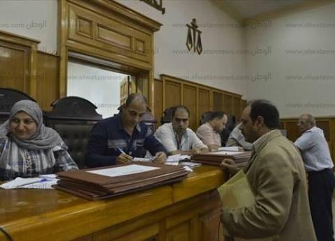 الهدوء يسيطر على المحاكم بالقاهرة والجيزة مع قلة أعداد المرشحين