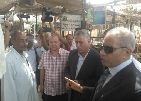 مدير أمن البحر الأحمر يتفقد الأسواق ويشدد على الالتزام بالأسعار