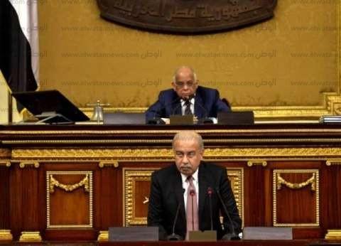 عبد العال يستقبل أحمد قطان بمقر البرلمان
