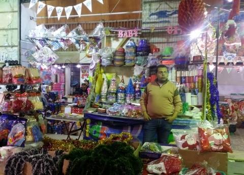 الركود يضرب محال «هدايا الكريسماس» فى الإسكندرية.. و«التجار»: الأسعار ارتفعت 50٪