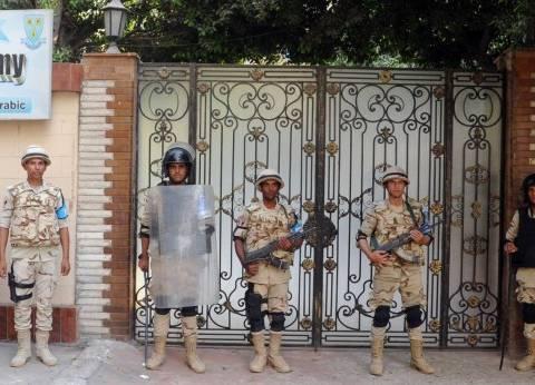 """الأمن يفض مشادة بين مواطن ورئيس لجنة في """"أبوتشت"""""""