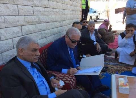 """بدو """"الوادي"""" يطالبون محافظ جنوب سيناء بتعين """"عودة"""" شيخ حكومي"""