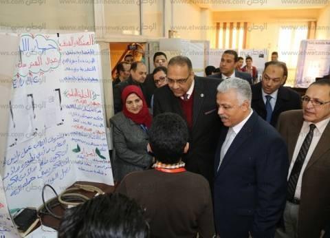 """جامعة المنوفية تُصعد 7 مشاريع للمرحلة الثالثة بمعرض """"آيسف"""""""