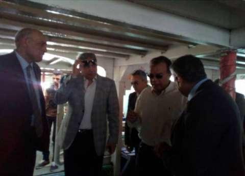 وزير النقل يتفقد إجراءات أمن وسلامة المراكب النيلية