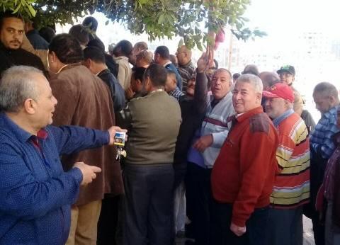 تزايد إقبال الناخبين على لجان الحضرة البحرية بالإسكندرية