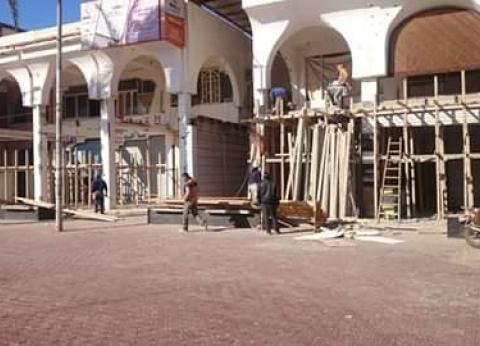 """تطوير محلات شارع النيل بـ""""رأس البر"""" في دمياط"""