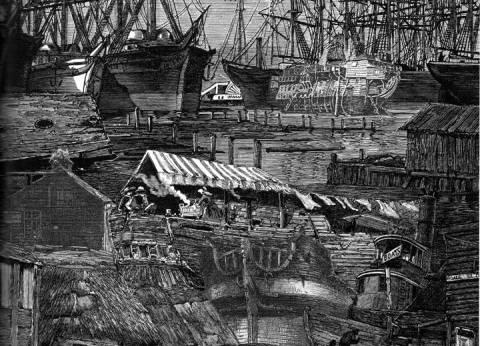 سفن أبحرت للبحث عن الذهب فدفنت تحت شوارع سان فرانسيسكو