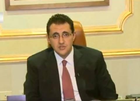 مجاهد: وزيرة الصحة تتابع حالة المصابين الـ43 من معهد ناصر