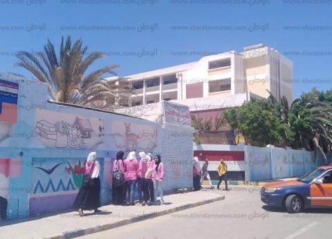 أولياء أمور طلاب الإعدادية يحررون شكوى لصعوبة امتحان العربي في الغردقة