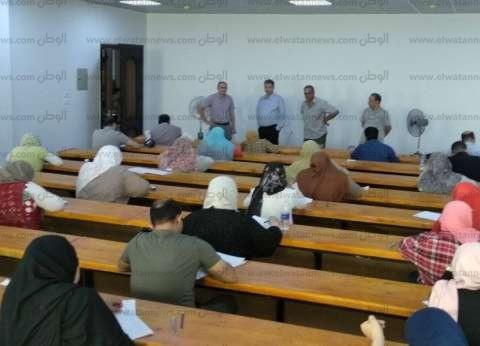 انتظام سير الامتحانات بالمعهد العالي لعلوم المسنين في بني سويف