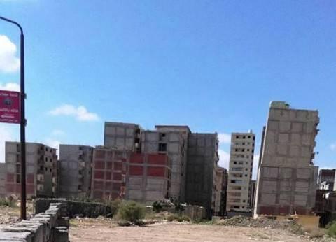 ميل جديد بعقارين شرق الإسكندرية.. والسكان: «حياتنا فى خطر»