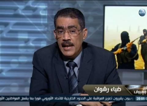 """ضياء رشوان: """"ثورة يناير نجحت لأن مبارك معبرش الشعب"""""""