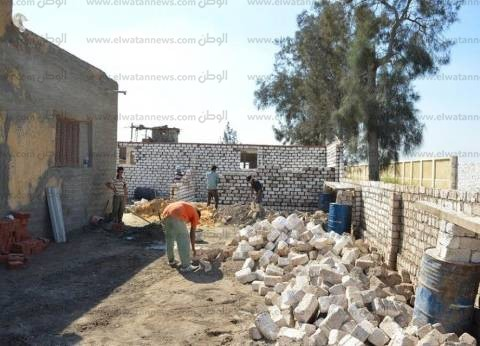 بالصور| حملة لإزالة التعديات على أملاك الدولة في كفر الشيخ
