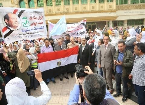 سفير مصر في هولند: إقبال متزايد من الجالية المصرية بأول أيام العطلة