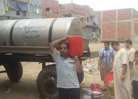 ضخ كميات من مياه الشرب لأهالي وسط مدينة رفح بشمال سيناء